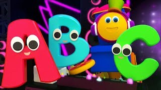 Alphabet Rhyme | ABC Song | Learn ABC Song | Learning Street With Bob The Train Kids TV