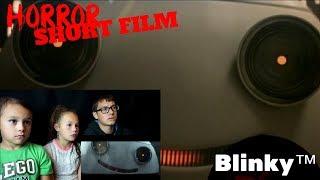 [FNSHF] Blinky™ Short Horror Film Reaction!!! | #dthreeHorrorGiveaway