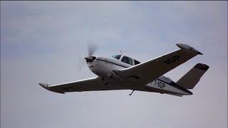Decolagem - Beechcraft Bonanza V35B - PT-IGP