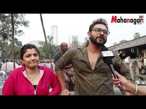 Shooting Floor Visit of Bengali Film Hullor | Soham | Srabanti | Darshana|Eskay Movies