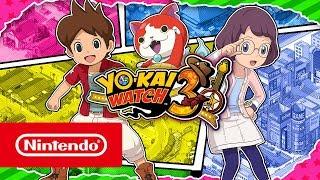 YO-KAI WATCH™ 3 - Two heroes, one big Yo-kai adventure! (Nintendo 3DS)