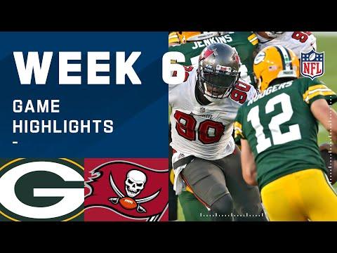 Packers vs. Buccaneers Week 6 Highlights NFL 2020