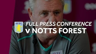 Press conference: Nottingham Forest home