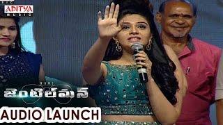 Srimukhi Cute Speech At Gentleman Audio Launch  Nani, Surabhi