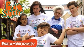 Selling Our Annoying Brother Prank | Diary of a Wimpy Kid presents PRANK STREET