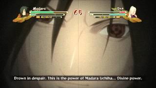Madara Uchiha! Divine Power