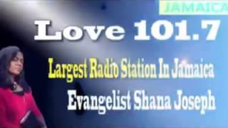 NYC Harvester LIVE on LOVE 101 FM - Jamaica's Most Popular Radio Station (Shana Joseph)