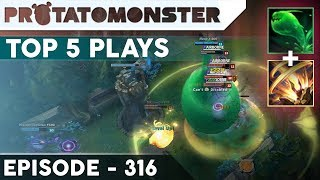 League of Legends Top 5 Plays Week 316 | Perfect Setup (Unbelievable Moments)
