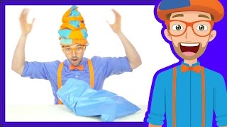 Learn Colors with Blippi   The Blue Song   Songs for Kids