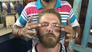 London Guy Getting Powerful Upper Body Massage In Pushkar India Part-1| 4K