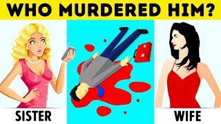 12 Crime Riddles And Mystery Puzzles You
