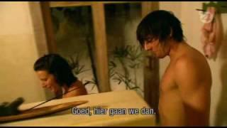 Temptation Island - Chris weeral bij donia, onder de douche (ep 5)