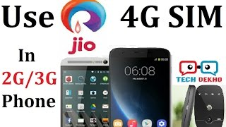 How to use JIO 4G in 2G/3G Phones | JioFi | Tech Dekho