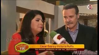 Victoria Ruffo Cesar Evora Cuentamelo Ya  @victoriaruffo31