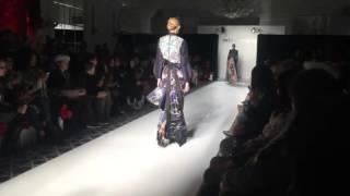 Balijava Denny Wirawan Koleksi Batik Kudus di Fashion Gallery New York Fashion Week 2016