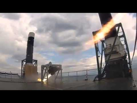 Hedefe Kitlenen Füzenin Gemiyi Patlatma Anı Kameralarda