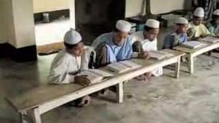 Boys Memorizing the Quran in a Rural Madrasah in Bangladesh