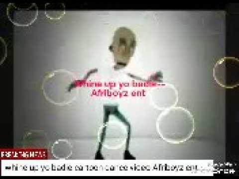 Afriboyz -whine up yo badie cartoon video