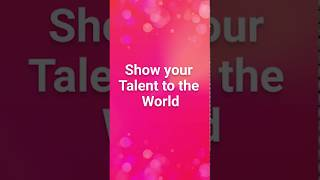 Show Your Talent to the World - Download Free VMate App