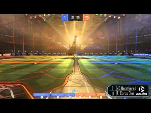RGN Rocket League 3v3  vQ Untethered vs F  Corps Blue bo5