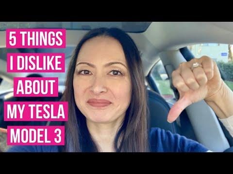 Xxx Mp4 5 Things I Dislike About My Tesla Model 3 3gp Sex