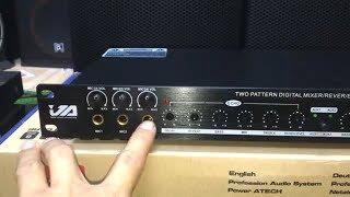 Cách chỉnh vang cơ karaoke gia đình VA TF6 cơ bản nhất lh 0989160695