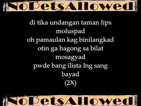 Bilangkad - NoPetsAllowed Lyrics on screen