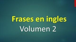 Frases básicas en inglés principiantes English Basic 2