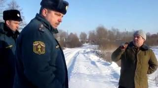 сотрудник МЧС Бесмертный Л В  рассуждает сколько жителей живет в Стрельчихе