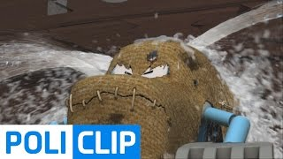 Dam is crumbling!   Robocar POLI Clips