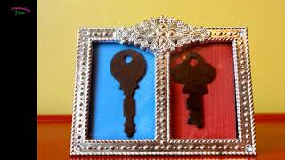 8 amazing and creative ideas to repurpose old keys | Learning Process