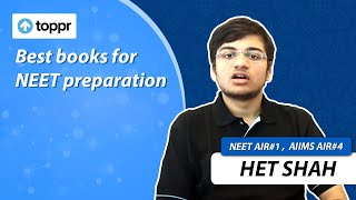 Important books for NEET preparation - NEET AIR 1 2016