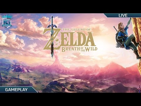 The Legend of Zelda Breath of the Wild LIVE Shrine Hunt Path to 100 1080p