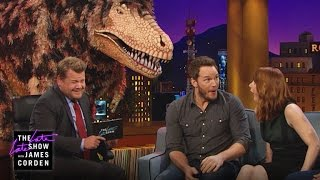 Tony Rex Confronts Chris Pratt