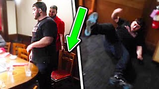 HE REALLY DID THIS IN PUBLIC!! *HE FOUGHT BACK*