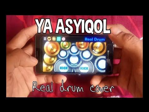 YA ASYIQOL - SABYAN ( REAL DRUM COVER )