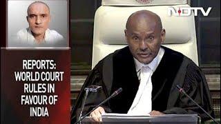 Kulbhushan Jadhav Death Sentence Suspended, Says ICJ