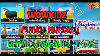 #Funky Nursery Rhymes Bhajans | Audio Jukebox | Non-Stop HD | Kids Rhymes