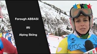 Women's sport rises in Iran - 28th Winter Universiade 2017, Almaty, Kazakhstan