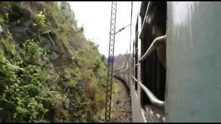 Poorva Express - Gurpa - Gujhandi Section - Dilwa BH tunnel