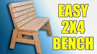 2x4 Sitting Bench - 104