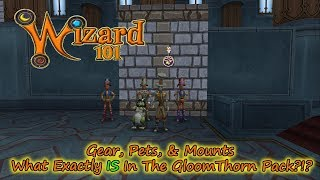 Wizard101 WHAT IS THIS in The New 2017 Gloomthorn Nightmare Pack?!?