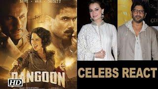 Rangoon Trailer | Celebrities Reaction