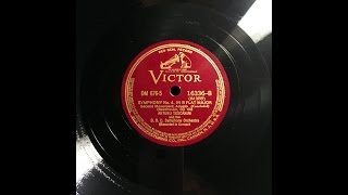 TOSCANINI: 1939 Beethoven Symphony No 4 with Mild Stereo Effect
