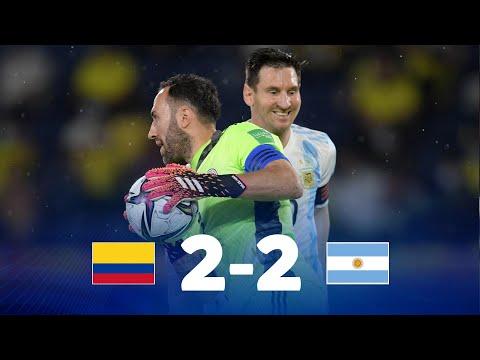 Eliminatorias Sudamericanas Colombia vs Argentina Fecha 8