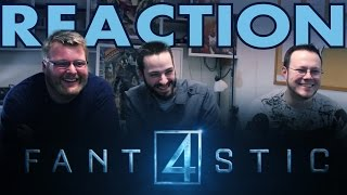 Fantastic Four trailer REACTION