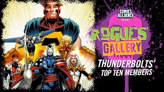 10 Greatest Thunderbolts Members - Rogues' Gallery