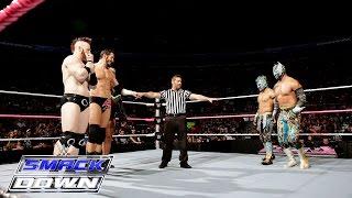 The Lucha Dragons vs. King Barrett & Sheamus: SmackDown, October 22, 2015