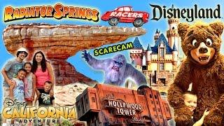 2015 Disneyland Family Trip w/ California Adventure too! Tons of Fun in Disney! (FUNnel Vision Vlog)