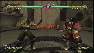 Mortal Kombat Deception - Scorpion Arcade Ladder